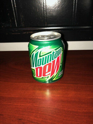 Mountain Dew 8oz Same Dew New View Can MTN Dew MT Dew
