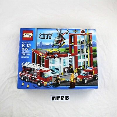 Lego City Fire Station 60004 Retired 12886 Picclick