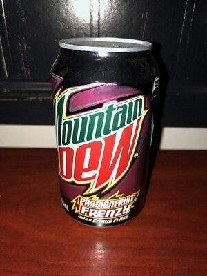 NZ Mountain Dew Passion Fruit Frenzy 355ML Can
