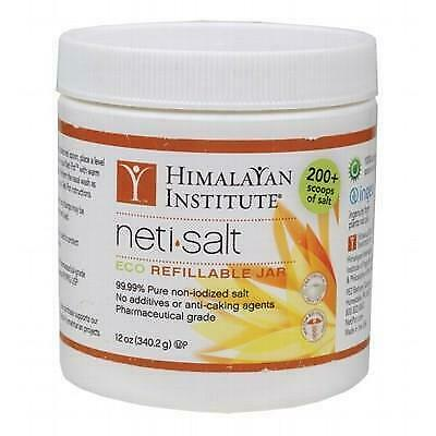 HIMALAYAN INSTITUTE Neti Salt For Neti Pot 340g