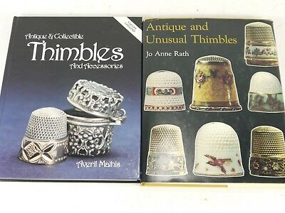 Antique And Unusual Thimbles By Jo Anne Rath + Thimbles & Accessories By Mathis