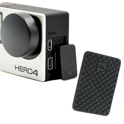 Black Replacement Parts USB Side Door Cover Case Part For GoPro HD Hero 3 3+ 4