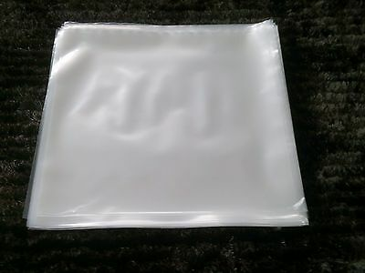 "10 THICK + 20 x 55 um NEW LP 12"" PLASTIC OUTER RECORD COVER SLEEVES sample pack"