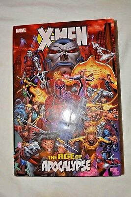 X-Men Age of Apocalypse HC Omnibus - First Edition - Great Condition - Only read