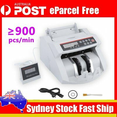 2018 Pro Australian Counter Money Cash Machine Automatic Counterfeit Detector