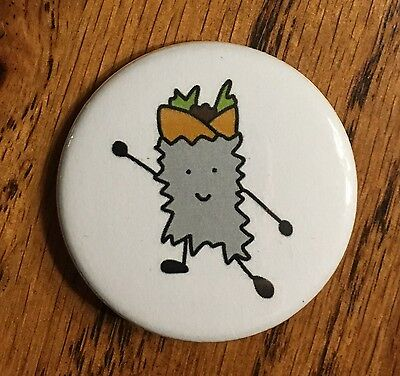Burrito Dance Pin Button Magnet Food Funny Homemade Art Gift Decor Accessory