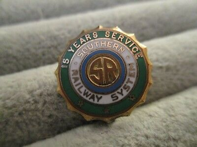 Southern Railway System RR Railroad 15 Years Employee Service Pin Award