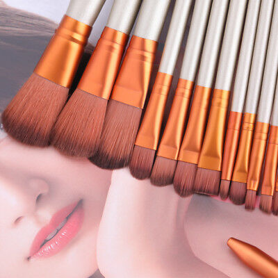 12 Pcs BONNIE CHOICE Makeup Brushes Kit Professional Beauty Cosmetic Tools