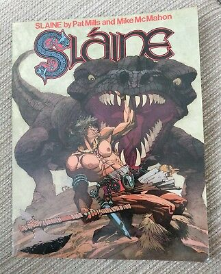 Slaine The Horned God Book One - First print 1986