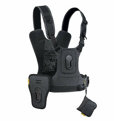 Cotton Carrier CCS G3 Harness-2  for two cameras (Gray)