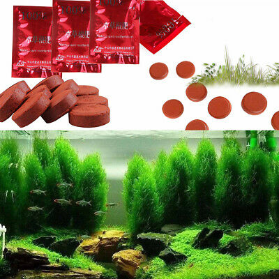 12Pcs/bag Aquarium Fish Tank Aquatic Water Plant Grass Root Fertilizer Tablets