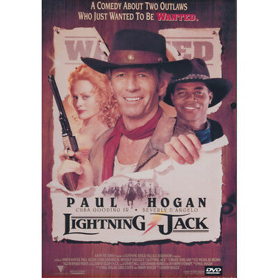 LIGHTNING JACK = PAUL HOGAN CUBA GOODING JR = DVD = (MOD) Free Au Post  =