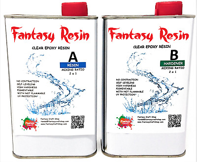 2,25 Kg Transparent & Clear Epoxy resin, Resina epoxi, epossidica, resine epoxy