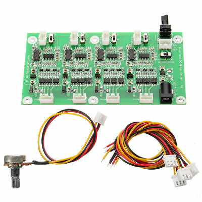 4-CH 4 Channel DC brushless motor PWM  speed controller driver board