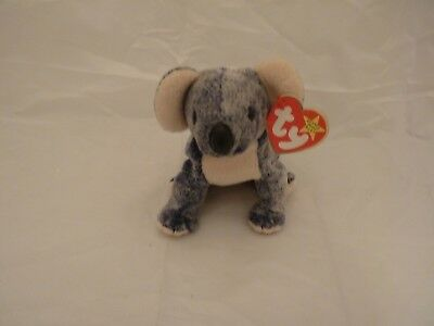 1999 Ty Original Beanie Babies EUCALYPTUS The Koala Bear w/Tags (7 inch)