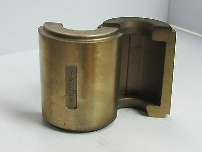 New Wilco Brass Bronze Die Holder R-6 For Wire Drawing