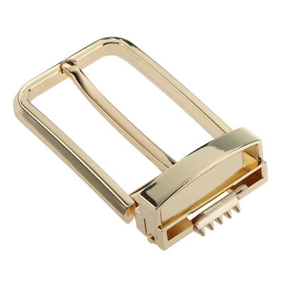 Mens Alloy Antique Belt Buckle Single Prong Rectangular Pin Buckle 35mm