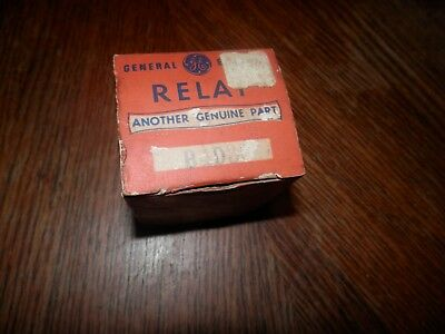 General Electric Motor Starting Relay 3ARR3 A4D3 New Old Stock