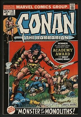 Conan The Barbarian #21 -  Dec 1972 Barry Smith Art At His Best! Award-Winning!
