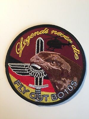 Bo 105 Fly Out Patch Legends Never Die
