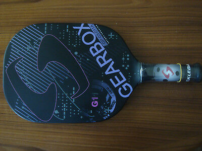 "GEARBOX  7.8 oz. G11 Pickleball paddle 3 7/8"" grip -"
