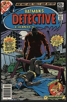 Detective Comics 480. Nm. Glossy With White Pages