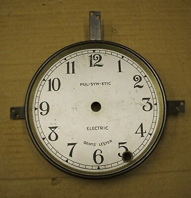 ORIGINAL 1930/40's GENTS MASTER CLOCK DIAL HOLDER/BEZEL (with a dial)