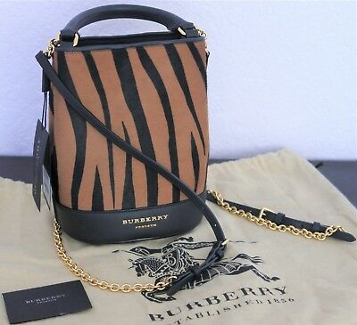 765aa1e4c901 RARE Burberry Prorsum XL Black-Gold Leather Runway Tote Bag Unisex.  995.00  Buy It Now 7d 13h. See Details. BURBERRY PRORSUM Small Bucket Backpack  Camel ...
