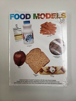National Dairy Council Food Images/Models life size