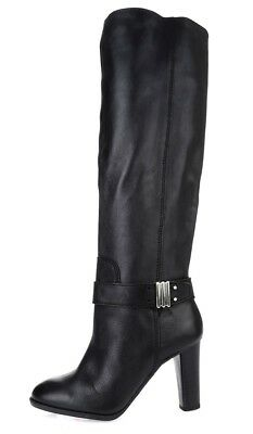 56355422de7 Womens ENZO ANGIOLINI SUMILO black leather knee high boots sz. 5 M  230