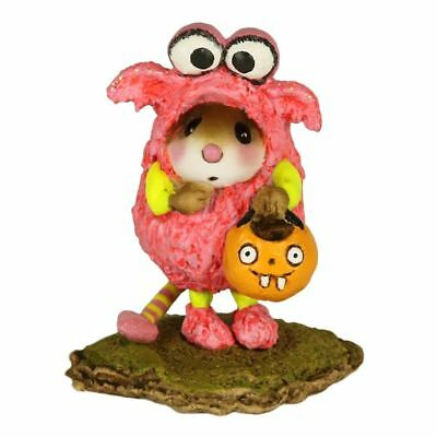 Wee Forest Folk L'il Monster In Pink M-590