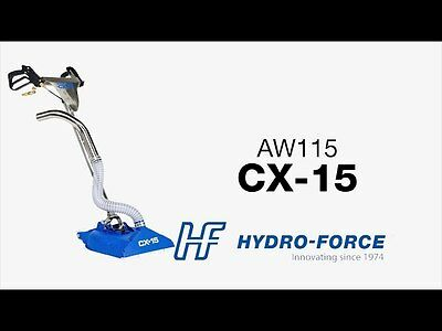 New Hydro-Force CX-15 Carpet Cleaning Rotary Wand 400-800 PSI AW115