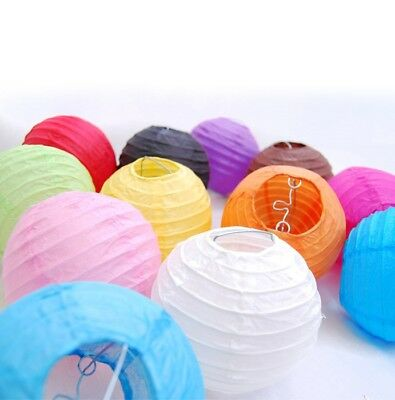 """5 Pack of 8"""" 10"""" 12"""" 14"""" 16""""  Paper Lantern Chinese Decoration Wedding Party"""