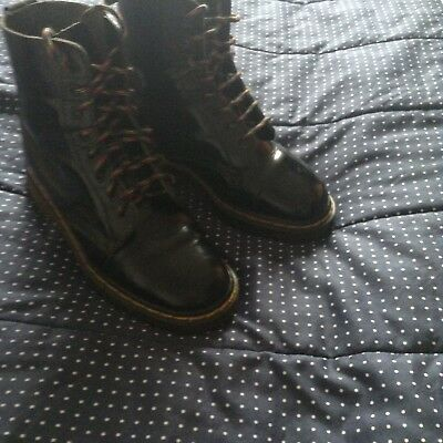 Ladies / Girls Size 5 Black Dr Martins Boots