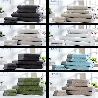 Luxury 100% cotton super soft absorbant towels hand towel bath towel bath sheet