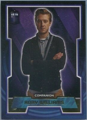 2015 Topps Doctor Who Rory Williams Gold Tardis Parallel