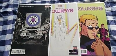Marvel Complete Set of All New Hawkeye Comics inc Variants First Print Brand New