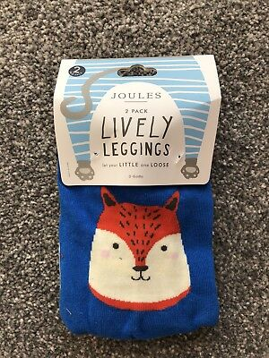 Joules Lively Leggings 0-6 Months RRP £14.95 BNWT