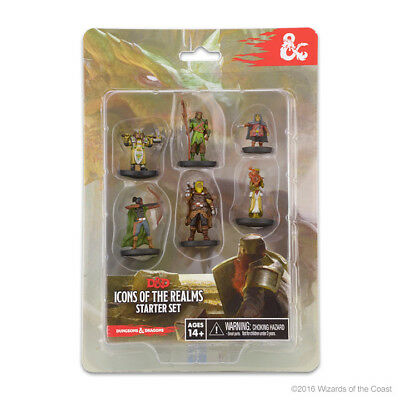 Dungeons & Dragons: Icons of the Realms Miniatures Starter Set #1 WZK72778