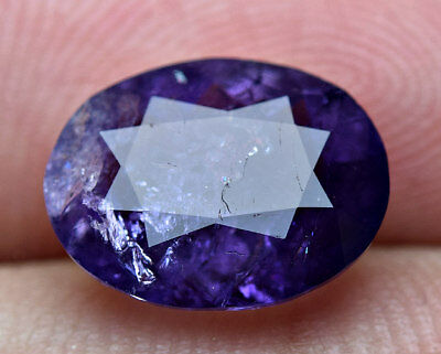 2.40 CT Fluorescent Transparent Violet Purple Color Scapolite Cut Gemstone@AFG