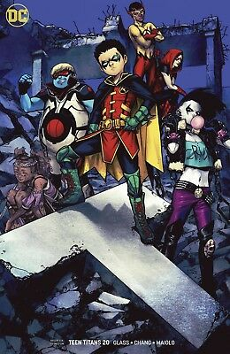 Teen Titans #20 DC Universe NM Variant Shirahama Cover 1st Crush