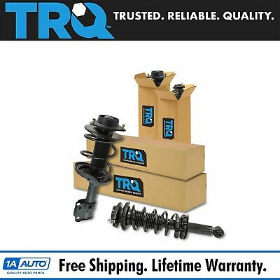 TRQ COMPLETE LOADED Strut Spring Assembly Front Rear Kit Set