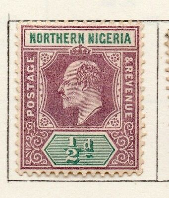 Northern Nigeria 1900-02 Early Issue Fine Mint Hinged 1/2d. 269058