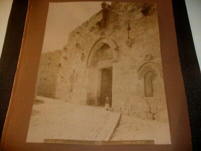 """Called """"Zion Gate or Davids Gate"""" Albumen Late 1800's - Early 1900"""