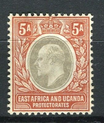 BRITISH KUT; 1903 early Ed VII fine Mint hinged 5a. value