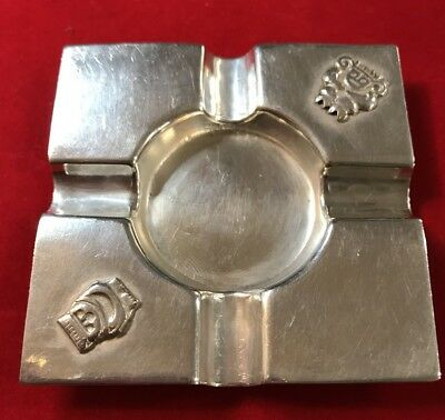Sterling Silver Ashtray Square Or Pen Rest