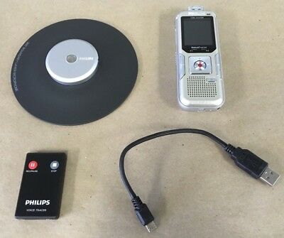 Philips Digital Voice Tracer 2280 Hours LCD Color Screen DVT8010 *NEW*
