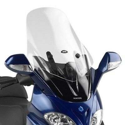 Windshield transparent for Piaggio X9 Evolution 200-250-500 03/08 GIVI Motorbike
