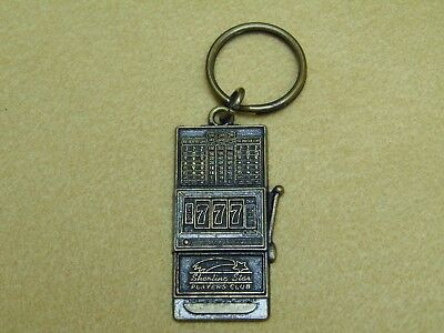 Shooting Star Casino And Lodge Players Club Key Chain Slot Machine Arm Bandit Nr