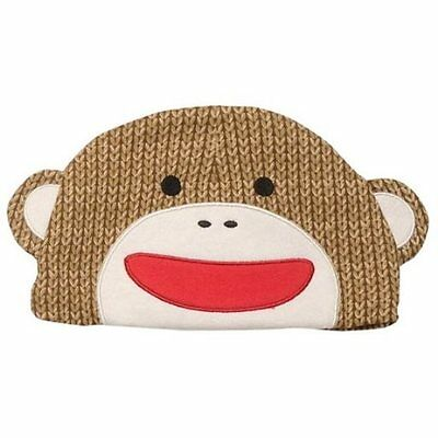 BABY STARTERS Sock Monkey Hat in Brown ~ NWT ~ 0-9 Months ~ 100% Cotton